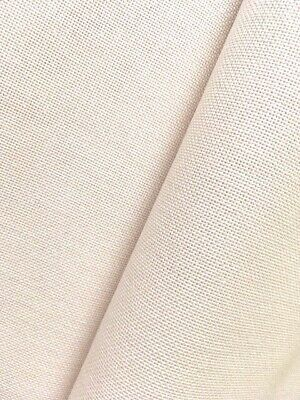 Soft Cream 32 Count Zweigart Murano colour 99 even weave fabric - size options