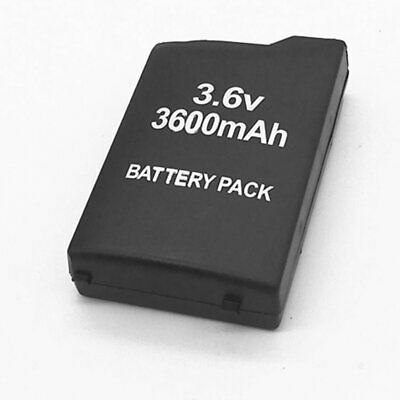 3.6V 3600mAh Replacement Rechargeable Battery Pack for Sony PSP PSP1000/1001♘♙