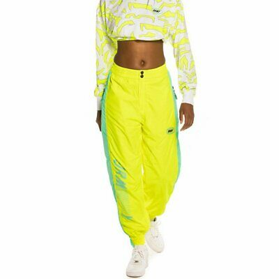 Grimey Mysterious Vibes  Pantalones Amarillo Mujer
