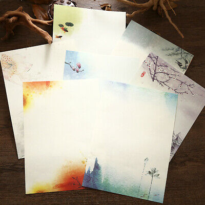 64pcs Vintage Chinese Style Retro Writing Paper Letter Paper Stationery Sets