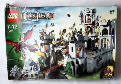Lego 2007 Castle 7094 King's Castle Siege New With 1 Bag Opened + 1 Bag Missing?