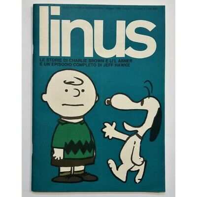Linus / le Storie Di Charlie Brown / May 1965 / Year 1 / n.2 / Magazine Fumetti