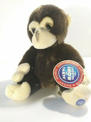 Ringling Brothers and Barnum Bailey Plush Circus Monkey New NOS