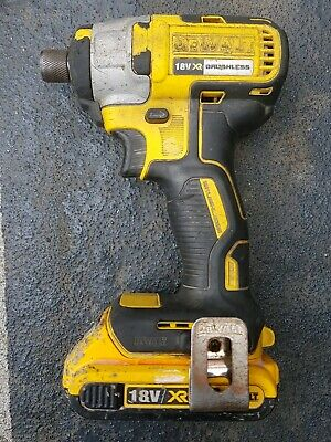 Dewalt DCF886 18v 2.0Ah brushless Lithium Ion impact drill bit cordless lot tool