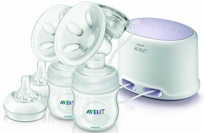 NEW Philips Avent Comfort Twin Electric Breast Pump