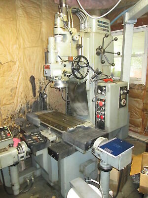"""Moore G18 24""""X 11"""" Table 230 3Ph  Jig Grinder Mark Century 1050 CNC Controlled"""