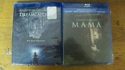 New Horror Double Feature 2 Blu Ray Mama Dreamcatcher  Ist Cls S&H
