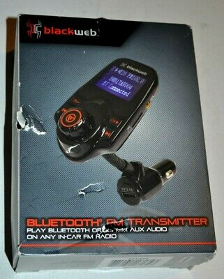 Blackweb Bluetooth FM Transmitter