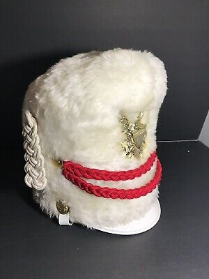 With Box and Plume Excellent. Stanbury Vintage Lot of 49  Marching band Hat