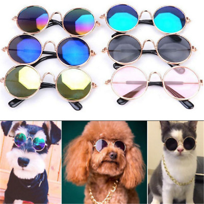 Newly Dog Cat Glasses For Pet Little Dog Eye-wear Puppy Sunglasses Photos Props