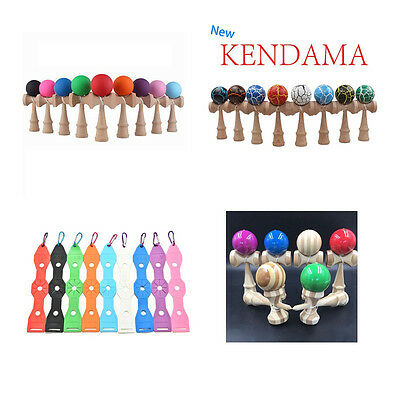 Kendama Japanese Traditional  Game Educational Skillful Wooden Toy Holder!d