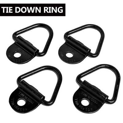 4 X Lashing Ring Zinc Plated Tie Down Points Anchor Ute Trailer Au