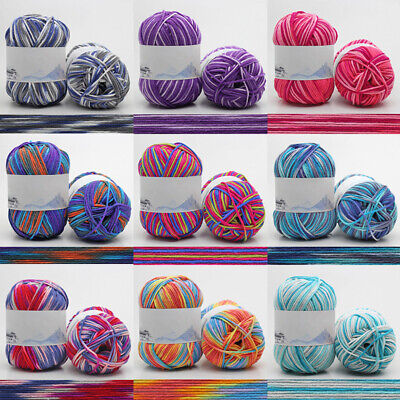 Chic 30 Colors Soft Baby Crochet Yarn DIY Hand Milk Cotton Knitted Wool Yarn