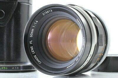 【EXC+++++ in Case】Canon FL 50mm f/1.4 Standard MF Lens from JAPAN#U04【Free Ship】
