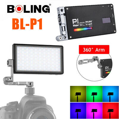 Boling BL-P1 Pocket RGB LED Video Fill Light Dimmable 2500-8500K For DSLR Camera