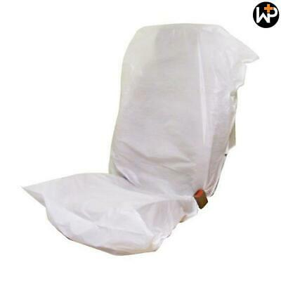 Disposable White Seat Covers Roll - 250 Pieces by Workshop Plus