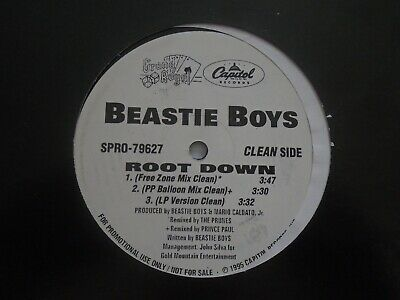 BEASTiE BOYS ROOT DOWN EP'' 1995 HiP HOP ViNYL GRAND ROYAL MCA MiKE D AD ROCK