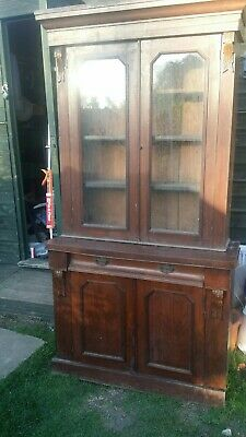 antuiqe chiffonier / library bookcase