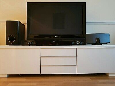 Magnificent Besta Burs Ikea Besta Burs Tv Stand High Gloss White With Andrewgaddart Wooden Chair Designs For Living Room Andrewgaddartcom