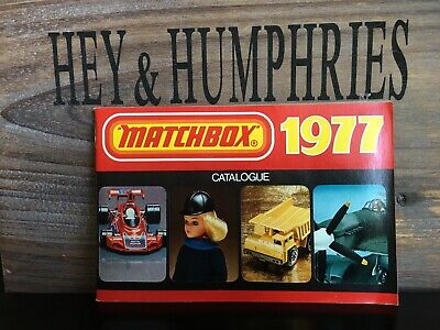 Originaler Matchbox Katalog 79 Pages no Script very good Condition from 1977