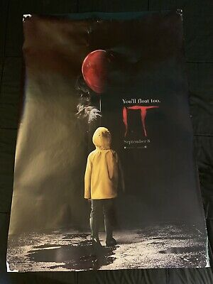 It Chapters One AND Two -2 - original DS movie poster 27x40 D/S