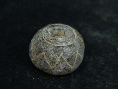 Ancient Stone Bead/Spindle Whorl Gandharan/Gandhara 100 AD #STN5283