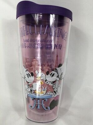 Disney Tervis Tumbler Epcot Food Wine Festival 2019 Chef Mickey Minnie Mouse NEW
