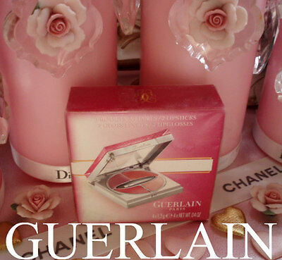 100% AUTHENTIC Exclusive GUERLAIN COUTURE BEAUTIFUL SMILE LIPSTICK&GLOSS PALETTE