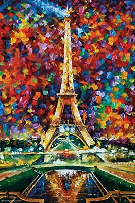 Frame USA Paris of My Dreams by LEONID AFREMOV Poster Print (24x36) (Rolled)