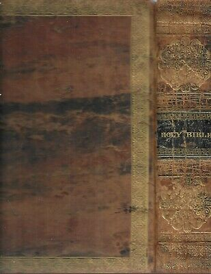 the Holy Bible containing the Old and New Testaments.  N.Y. 1826. Stereotype ed.
