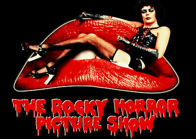 248196 THE ROCKY HORROR PICTURE SHOW MOVIE Art WALL PRINT POSTER AU