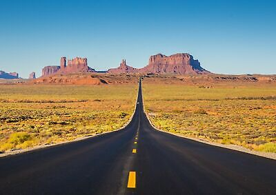 252165 U.S Route 163 Highway Monument Valley  WALL PRINT POSTER AU