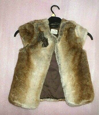 6-7 Years Autograph Marks And Spencer Girls Fur Gilet