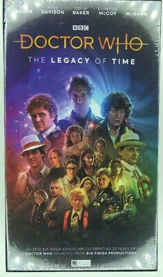 Doctor Who The Legacy of Time Limited Edition CD Box - New & Sealed - Big Finish
