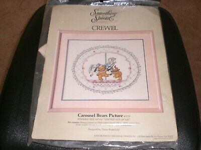 Something Special Crewel Embroidery Kit - Carousel Bears Picture 40229