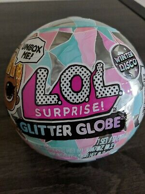 NEW  LOL Surprise Winter Disco Glitter Globe Sealed Ball IN HAND  Big Sis