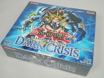 Yugioh 1st Edition Dark Crisis Booster Box DCR Factory Sealed 24 Packs Mint