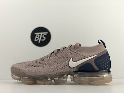 """Men's Nike Air Vapormax Flyknit 2 """"Diffused Taupe"""" Size-10 Tan Blue (942842 201)"""