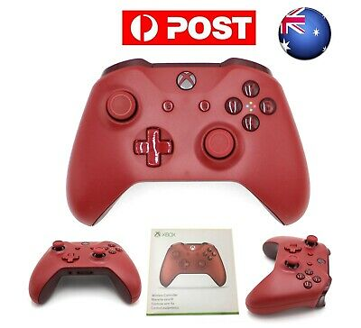 AU War Red Edition MS Xbox One S Wireless Bluetooth Game Controller Gamepad New