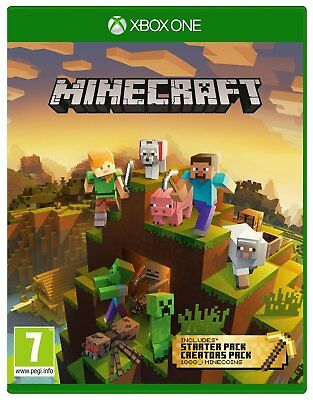 Minecraft Bedrock Master Collection Microsoft Xbox One Game - 7+ Years