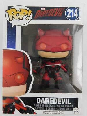 Funko Pop! Marvel Daredevil #214 New Damaged Box
