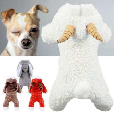 Small Dogs Clothes Cartoon Pets Costume For Cats Puppy Hoodie Winter Warm Coats