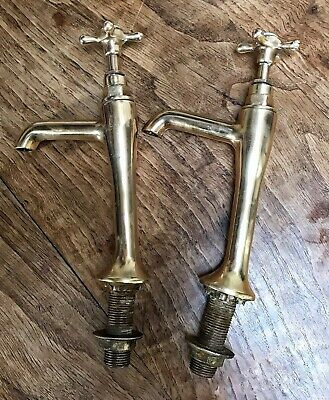 Antique Solid Brass Taps (Extra Long)