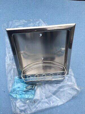 INDA Recessed Stainless Steel Soap Holder RRP £69