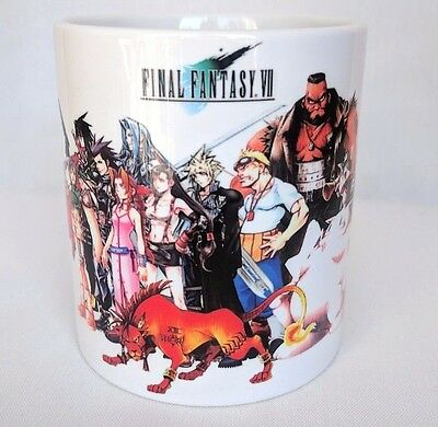 Final Fantasy 7 ff7 VII - Coffee MUG CUP - Cloud - Sephiroth - Tifa - RPG