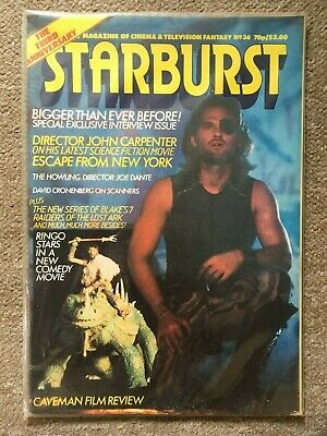 STARBURST - Number 36 -  1981 Magazine