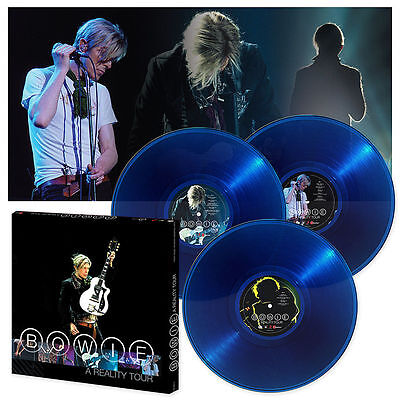 David Bowie A Reality Tour New Sealed Blue Vinyl 3Lp Box Set In Stock
