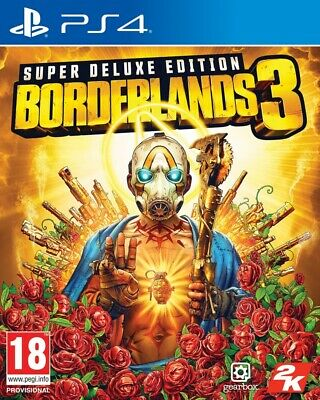 Borderlands 3 Super Deluxe Edition PS4 Spiel NEU OVP Playstation 4