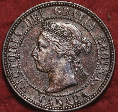 1901 Canada One Cent ms+64