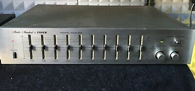 Fisher EQ-350  Vintage Stereo Graphic Equalizer   Made in Japan